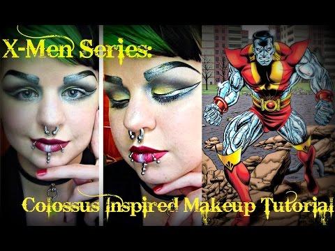 X-Men Series: Colossus Inspired Makeup Tutorial | Astrid Aesthetic