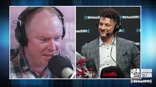 Richard Christy Cries While Speaking to K.C. Chiefs QB Patrick Mahomes