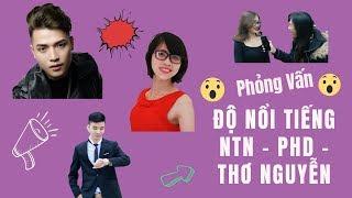 Thử Thách Xem Độ Nổi Tiếng Của PHD - NTNVlogs - Thơ Nguyễn Trên Phố Đi Bộ | Trần Minh Phương Thảo