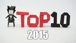 Top 10 Origami 2015