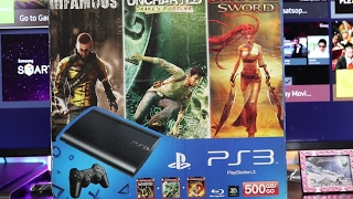 Sony PS3 Unboxing India in Hindi