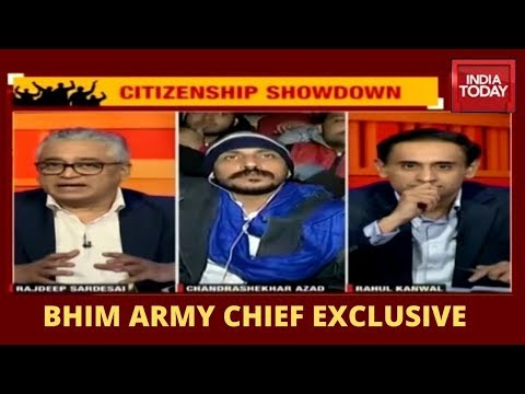Bhim Army Chief, Chandrashekhar Azad Exclusive From CAA Protest Site In Jama Masjid, Delhi