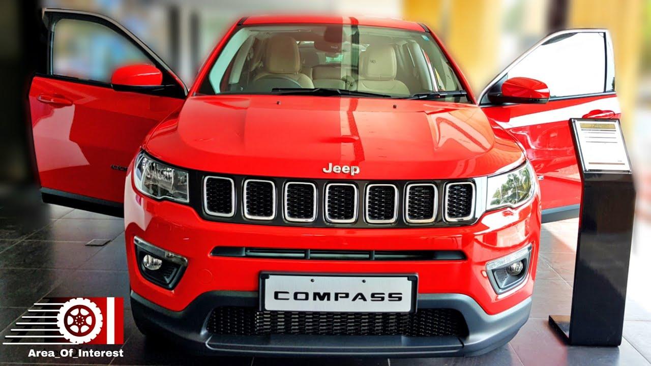 2019 Jeep Compass Longitude Mid Variant Price Mileage Features Interior Specs Youtube