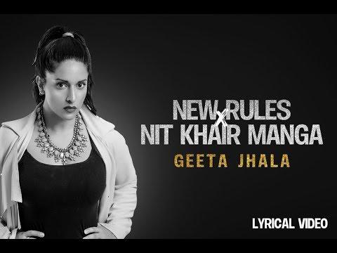 New Rules X Nit Khair Manga  Cover | Refix Feat. Geeta Jhala