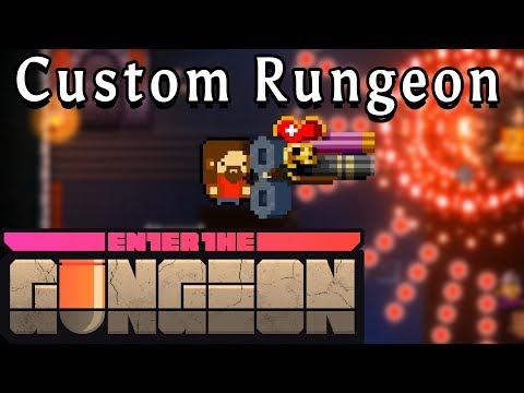 Enter the Gungeon | Love and Hate Shotgun | Custom Rungeon