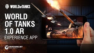 Приложение World of Tanks 1.0 AR Experience на Android
