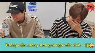 Tưởng mặn sương sương ai ngờ mặn chát 😂 =))) | BTS funny moments
