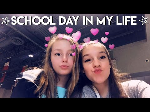 school day in my life | jade thomas
