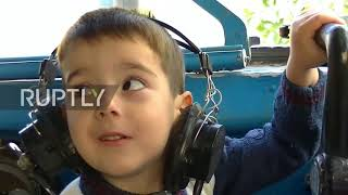 Flight of infancy! This kindergarten inside an AIRPLANE is really taking off