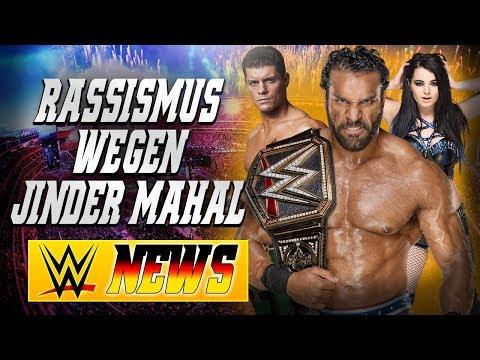 Rassismus bei Jinder Mahal Segment, WWE fragt Fans wegen WWE VR, ROH/TNA | WWE NEWS 69/2017