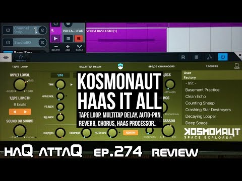 KOSMONAUT HAS IT ALL │ feat. Bram Bos Interview - haQ attaQ 274