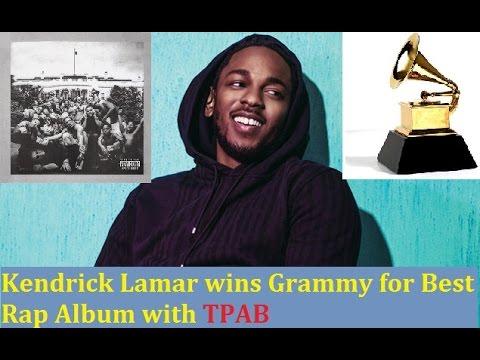 Kendrick Lamar Wins The Grammy for Best...