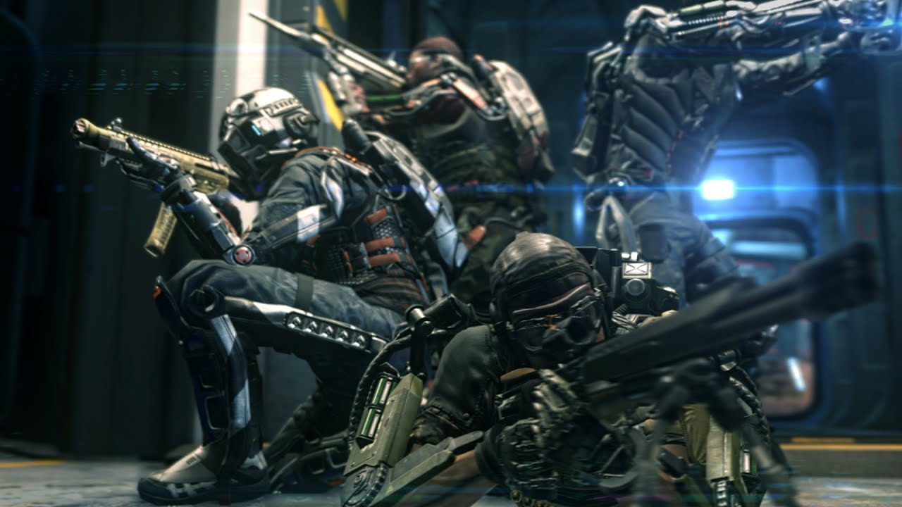 Call Of Duty: Advanced Warfare' Reveals Four Player Co-Op Mode