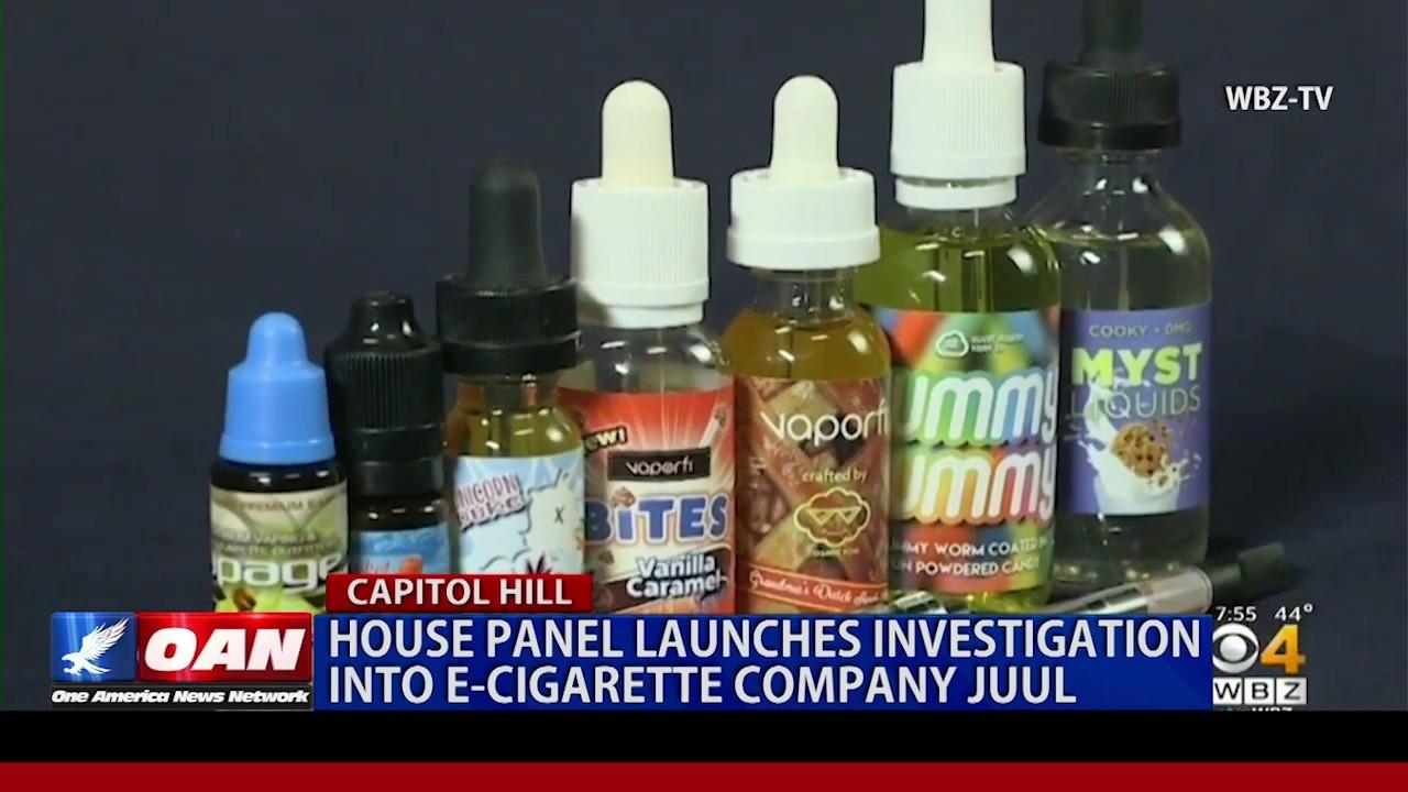 OAN - House panel launches investigation into e-cigarette company Juul