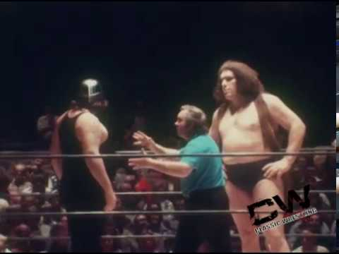 Andre the Giant vs Big Bad John