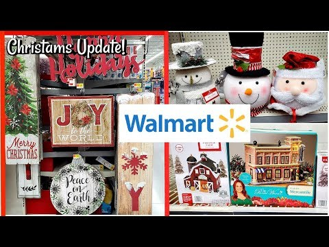 Walmart * NEW CHRISTMAS DECOR UPDATE! 2019 * SHOP WITH ME