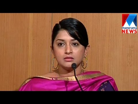 Meera Jasmine burst out on atrocities on women  | Manorama News