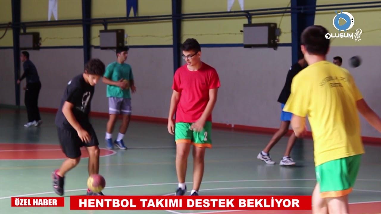 SEFERİHİSAR'DA HENTBOL SÜPER LİG YOLUNDA