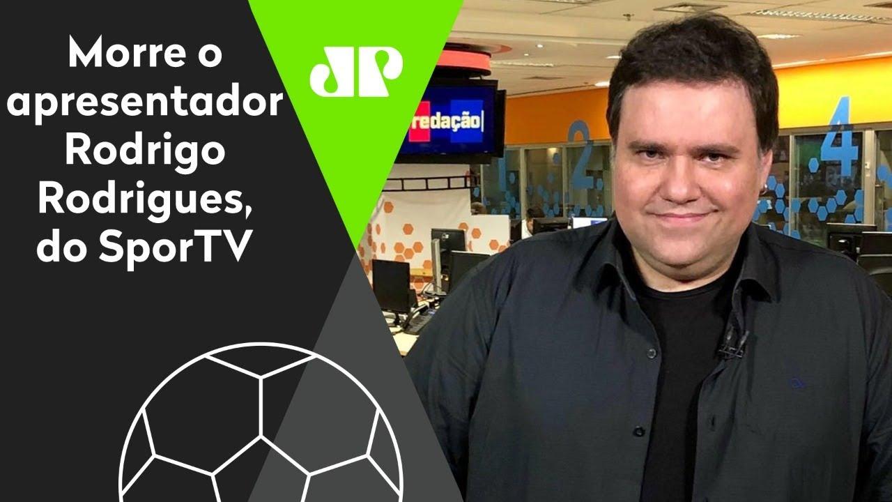 LUTO! Morre Rodrigo Rodrigues, apresentador do SporTV – Jovem Pan Esportes