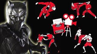 Captain America Civil War - Black Panther vs Winter Soldier - Fight Scene Breakdown