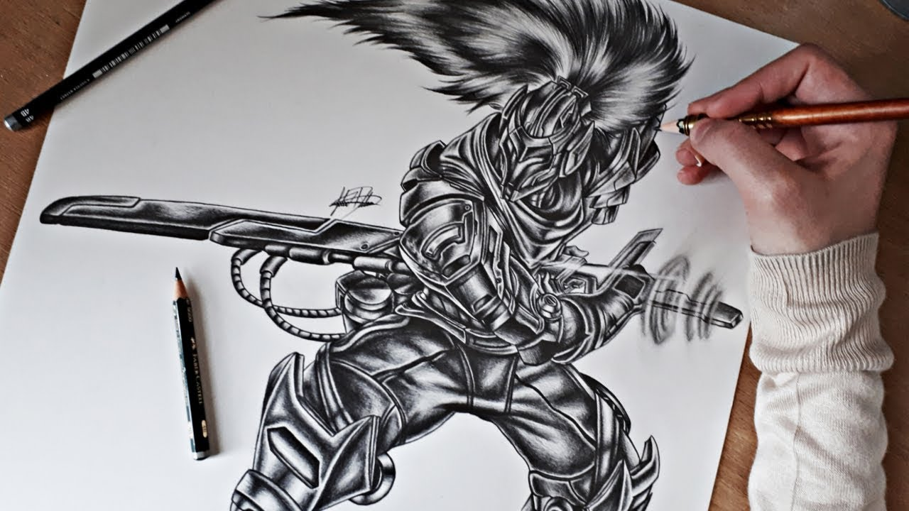 Let S Draw Project Yasuo League Of Legends Pencil Drawing Q A Youtube Learn how to draw easy and confident step by step in the league of legends drawing app!believe it or not, but almost every person on the earth has heard about the computer game lol. let s draw project yasuo league of legends pencil drawing q a