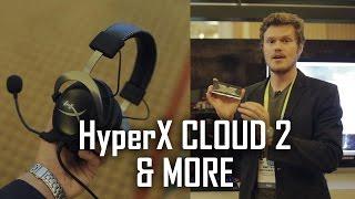 Kingston HyperX CLOUD 2 | 64GB DDR4 RAM | New M.2 Sata drive Thumbnail