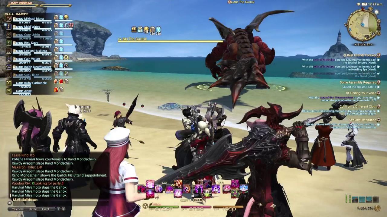 FFXIV PS4 PRO S Hunt