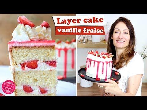🍓-layer-cake-vanille-fraise-~-recette-légère-et-gourmande-🍓