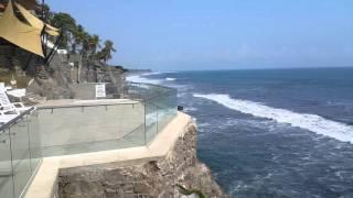 Vista al mar desde Hotel Farallones La Libertad El Salvador 4K resolution