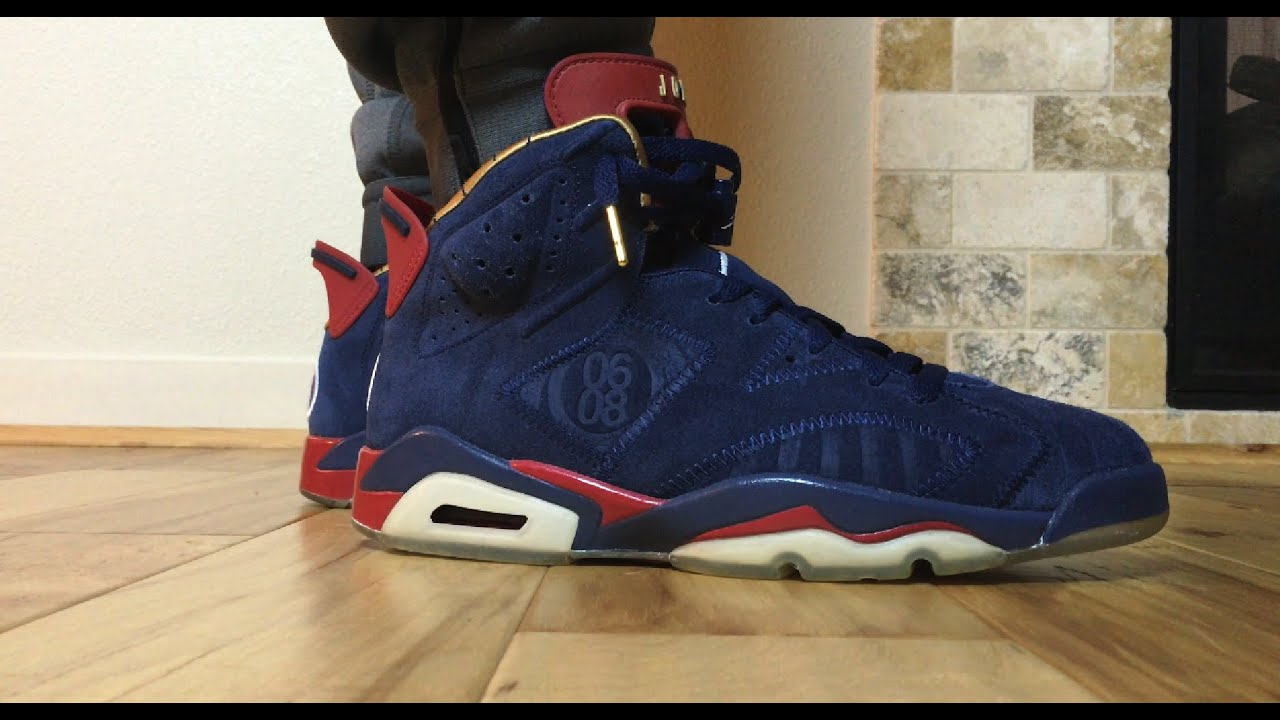 51668b2526fa On Feet  2009 Air Jordan 6 DB Doernbecher by Jordan Dark - YouTube