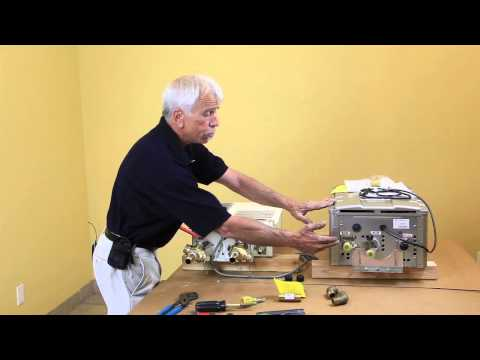 Tankless Water Heater Valve kit Tutorial