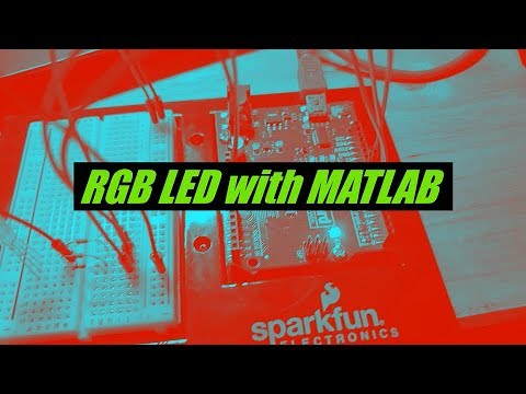 Controlling an RGB LED with MATLAB