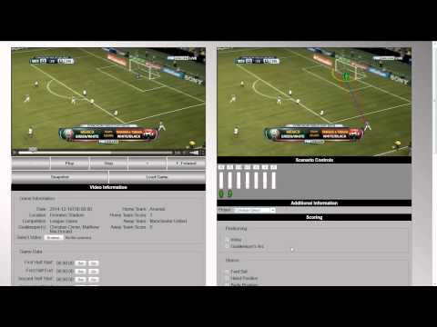 Goalkeeper Video Analysis Software - Sneak Peak #2
