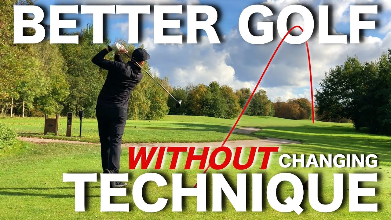 3 ways to play BETTER GOLF - WITHOUT changing your technique!