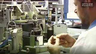 Officine Panerai: the dial production steps