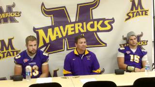 Minnesota State Football vs. Crookston Postgame Press Conference