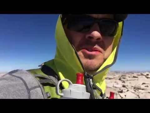 Mt. Whitney day hike summit, 07-13-16