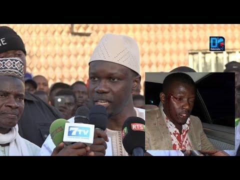 Kaffrine : Ousmane Sonko s'exprime sur les agressions des militants de Pastef à Saint Louis !