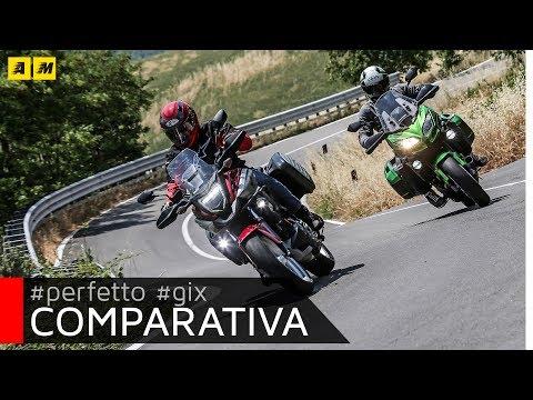 Honda NC 750X DCT vs Kawasaki Versys 650: sfida tra crossover di successo! [ENGLISH SUB]