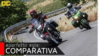 Test Review Honda NC 750X DCT vs Kawasaki Versys 650: which one is the best? [SUB]