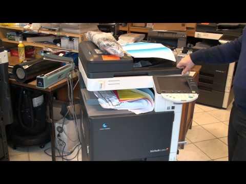 Bizhub C203 Konica Minolta Copy Machine Review