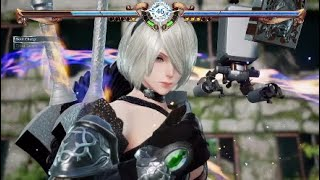Soulcalibur VI 2B Dressed as Ivy Vs Ivy Dressed as 2B Cosplay Battle