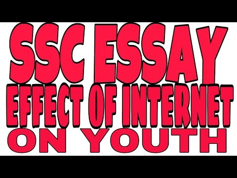Видео Essay on effect of internet on youth