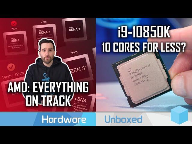 AMD CPU and GPU Roadmap Updates, Core i9-10850K Thoughts | News Corner