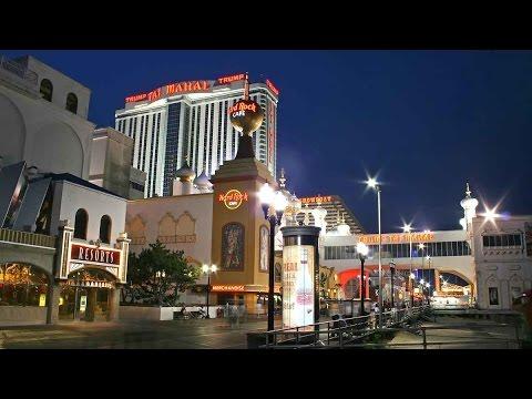 Broadwalk Atlantic City, USA - August 2016 4K