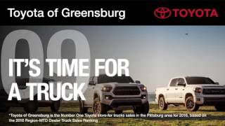 Why Buy From Toyota of Greensburg