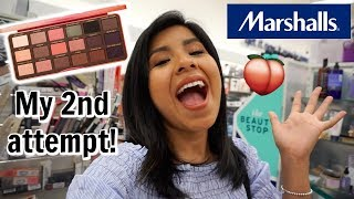 Come Shop With Me: Too Faced Sweet Peach Palette at MARSHALLS?! | High End Makeup Deals
