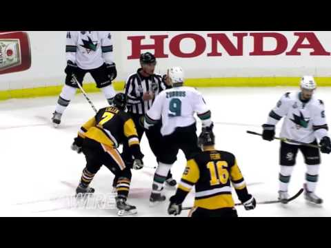 2016 NHL Stanley Cup Finals   Penguins vs Sharks   Mic d Up Trash Talk HD
