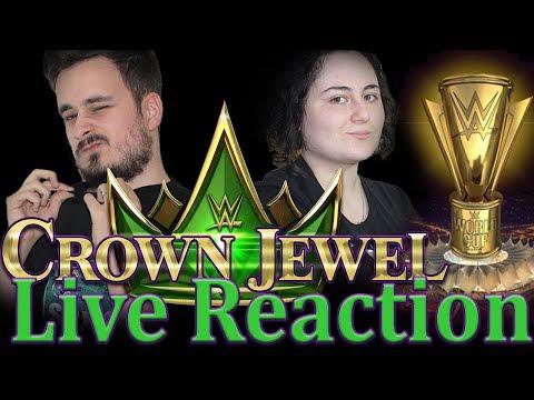 WWE CROWN JEWEL LIVE REACTION ITA