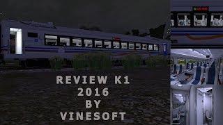 [Trainz railroad simulator] Review Kereta K1 2016 by VINESOFT
